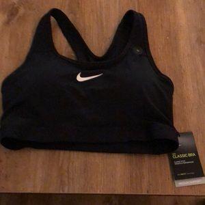 Nike classic bra in black